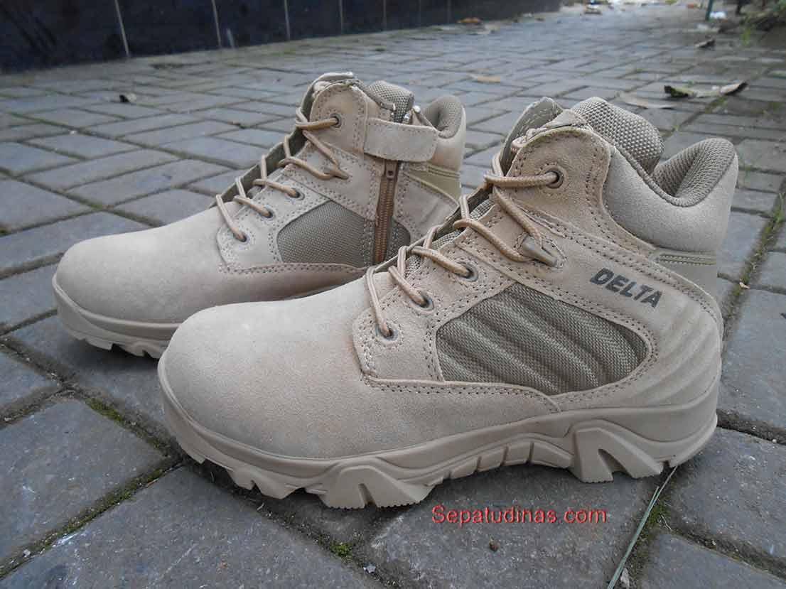 Jual Sepatu Delta Force Tactical 511 Militer Hitam Dan Gurun Boots 6in Desert Tan O Dinas