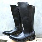 Sepatu Patwal – Sepatu Tunggang (Polos)