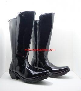 Sepatu Tunggang Polantas 011K