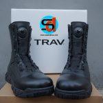 Sepatu Traveller Boa Type Full Kulit