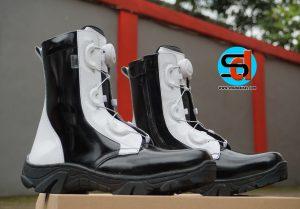 Sepatu PDL Provos Polisi Tali Putar