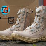 Sepatu Boa Gurun / Cream Tali Putar